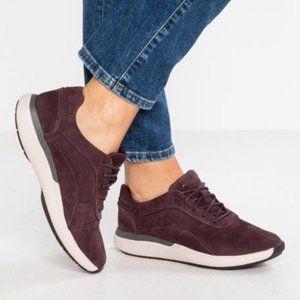 Clarks Unstructured Women's 8.5 Wide Wave Walk Sneaker Walking Shoes